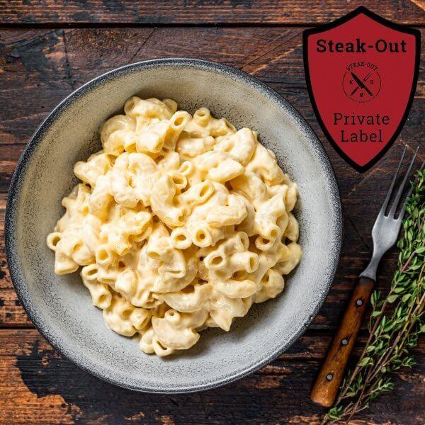 Cheesy Mac. Steak-out Private Label. 800 gram