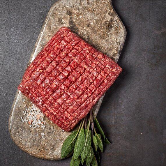 Dansk Jersey hakkekød af modnet fritgående kødkvæg