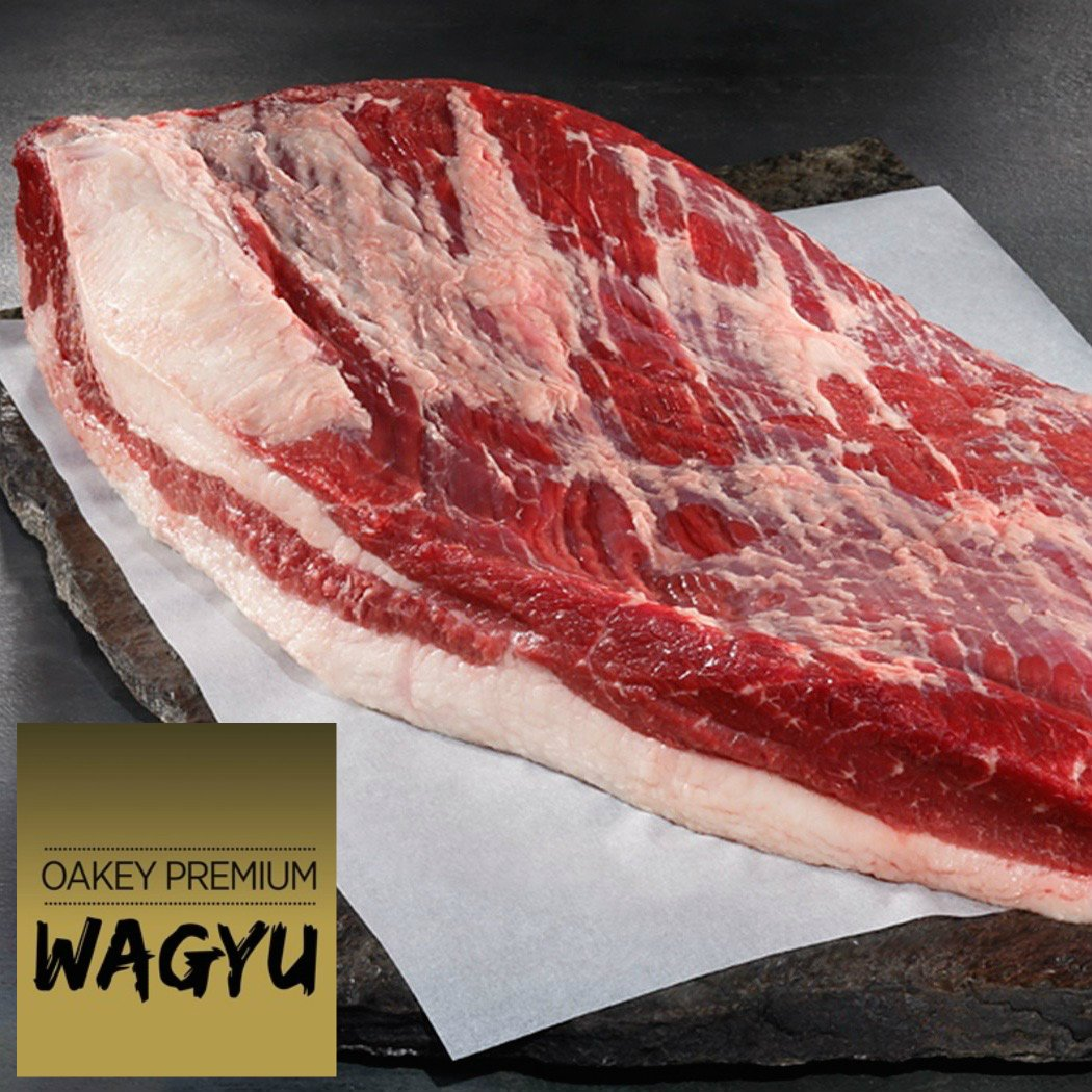 Brisket full packer. Oakey Premium Wagyu. Mbs 3-5