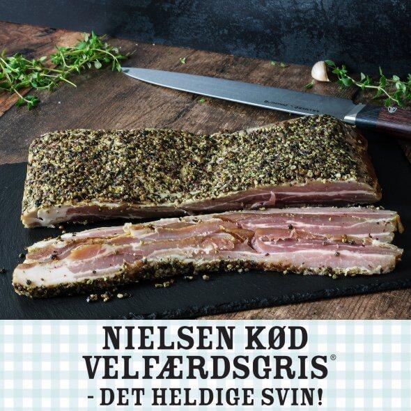 Gourmet Bacon m/peber crust af velfærdsgris