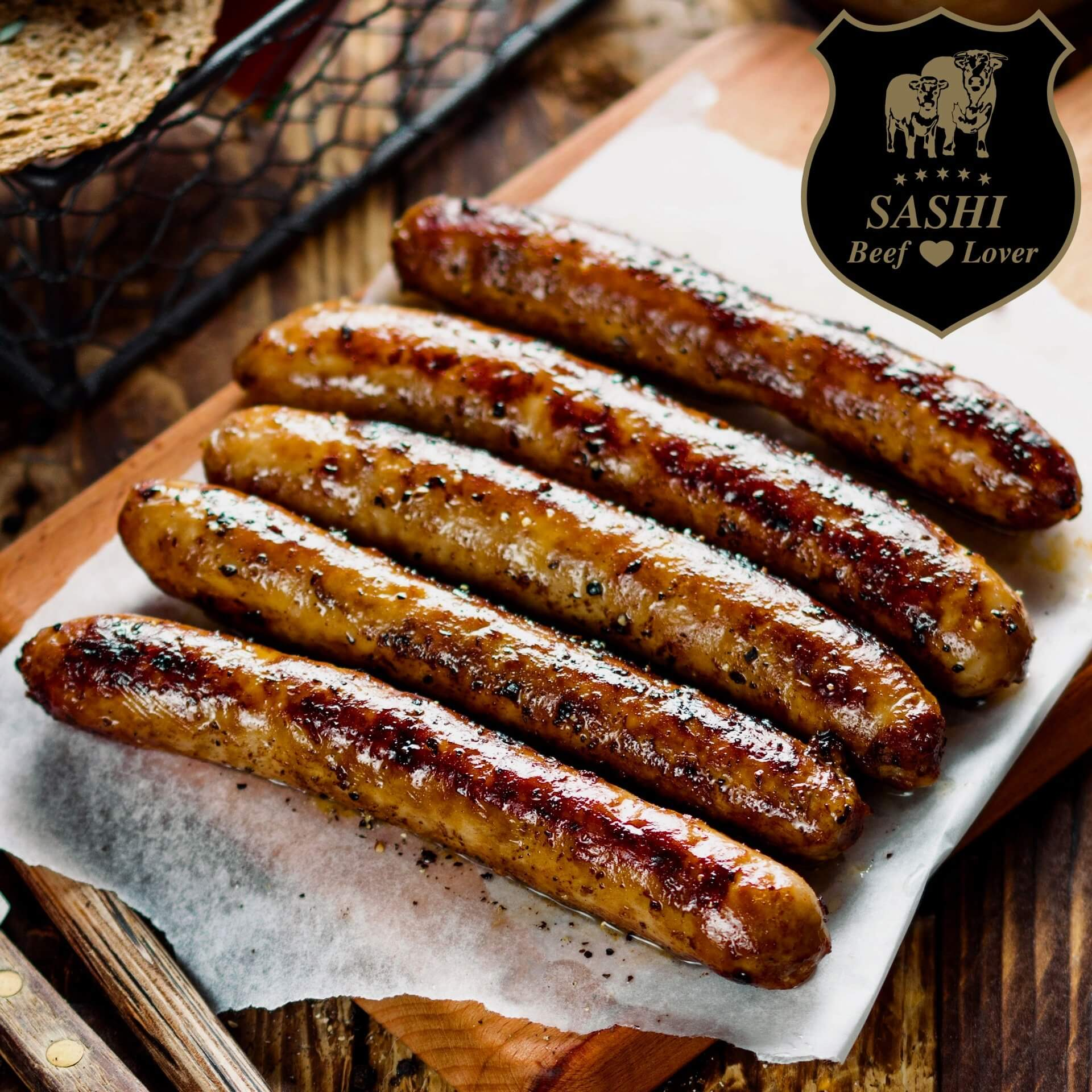 Sashi OkseGriller. ca. 500 gram - 5 styk