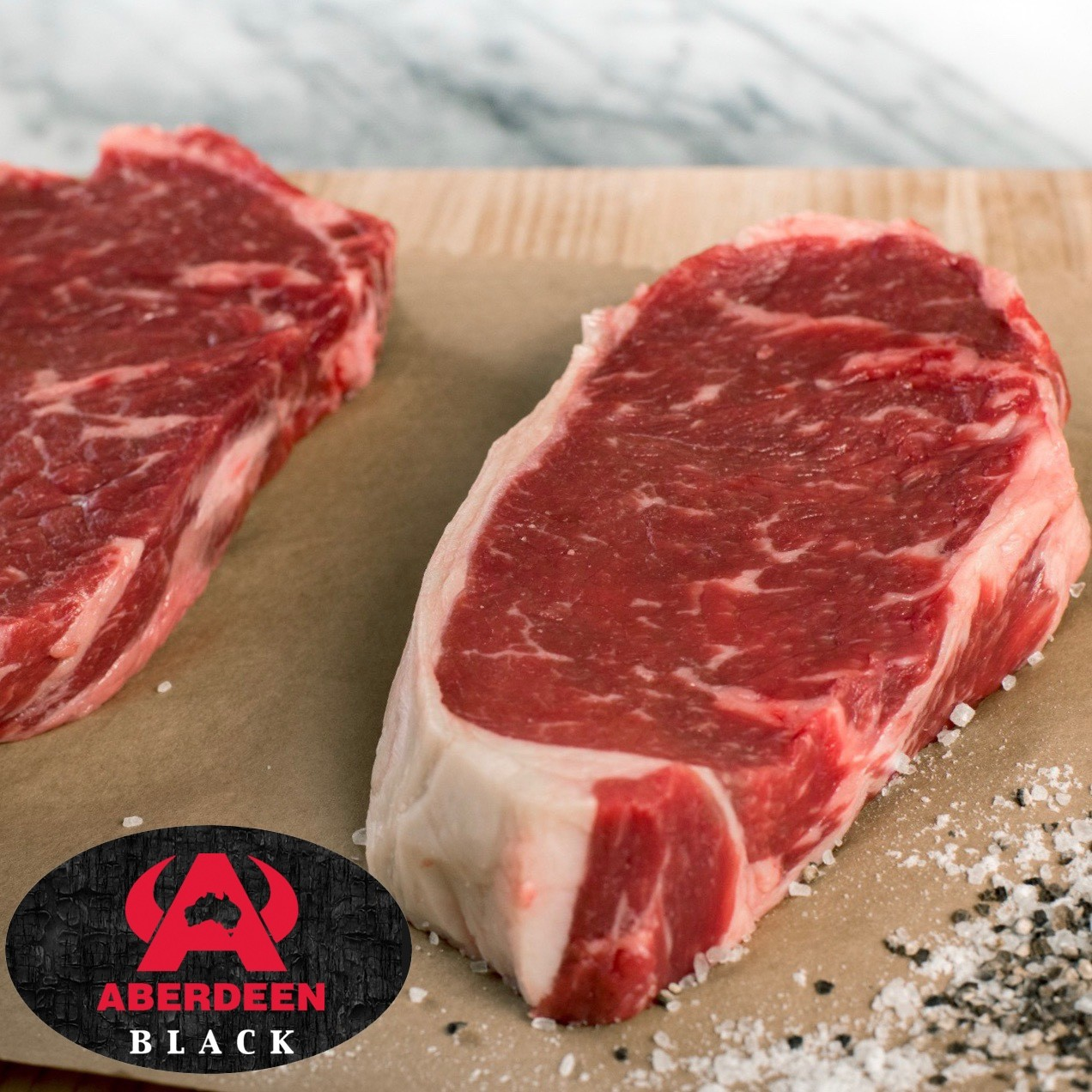 Striploin. Aberdeen Black