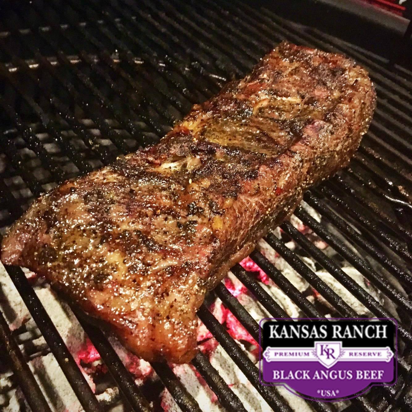 Chuck Flap Roast. Kansas Ranch Black Angus
