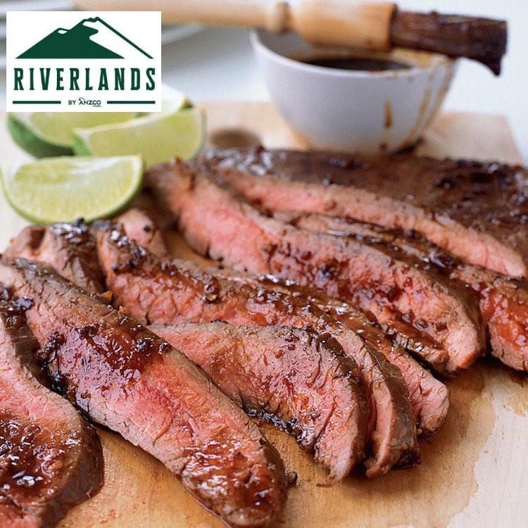 Flank Steak Deal. Riverlands New Zealand. Ca. 5.6 kg