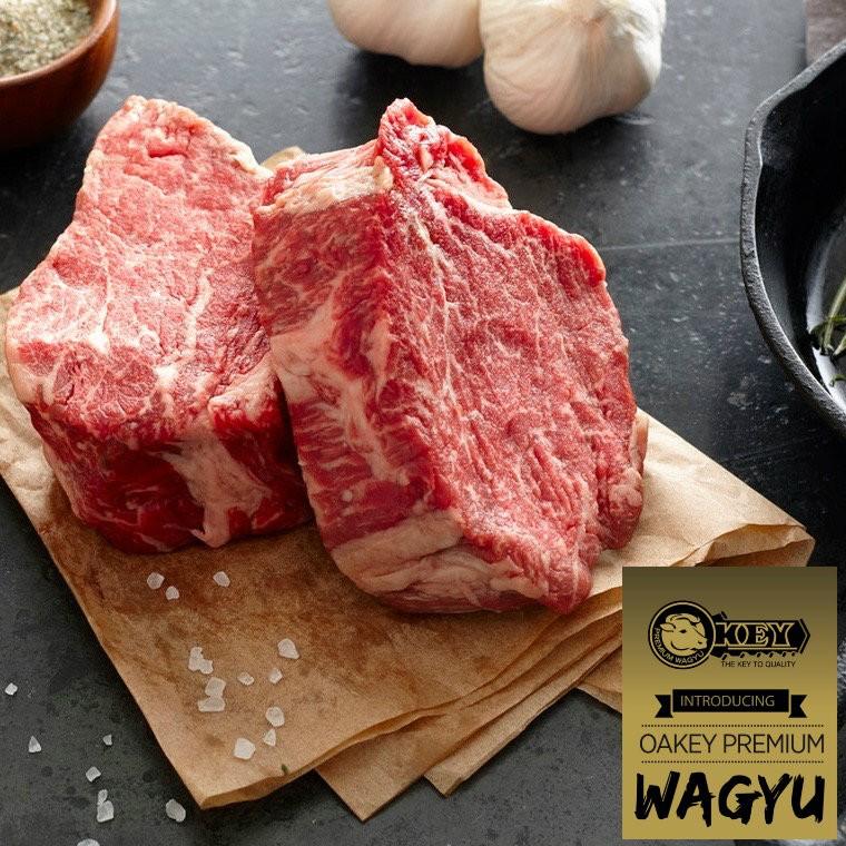 Mørbrad. Oakey Premium Wagyu. Mbs 3-5.