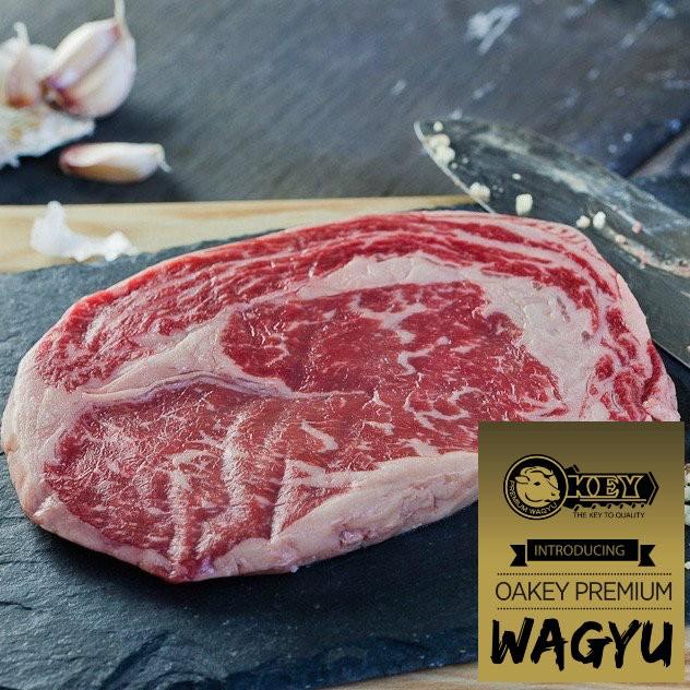 Ribeye. Oakey Premium Wagyu Mbs 3-5