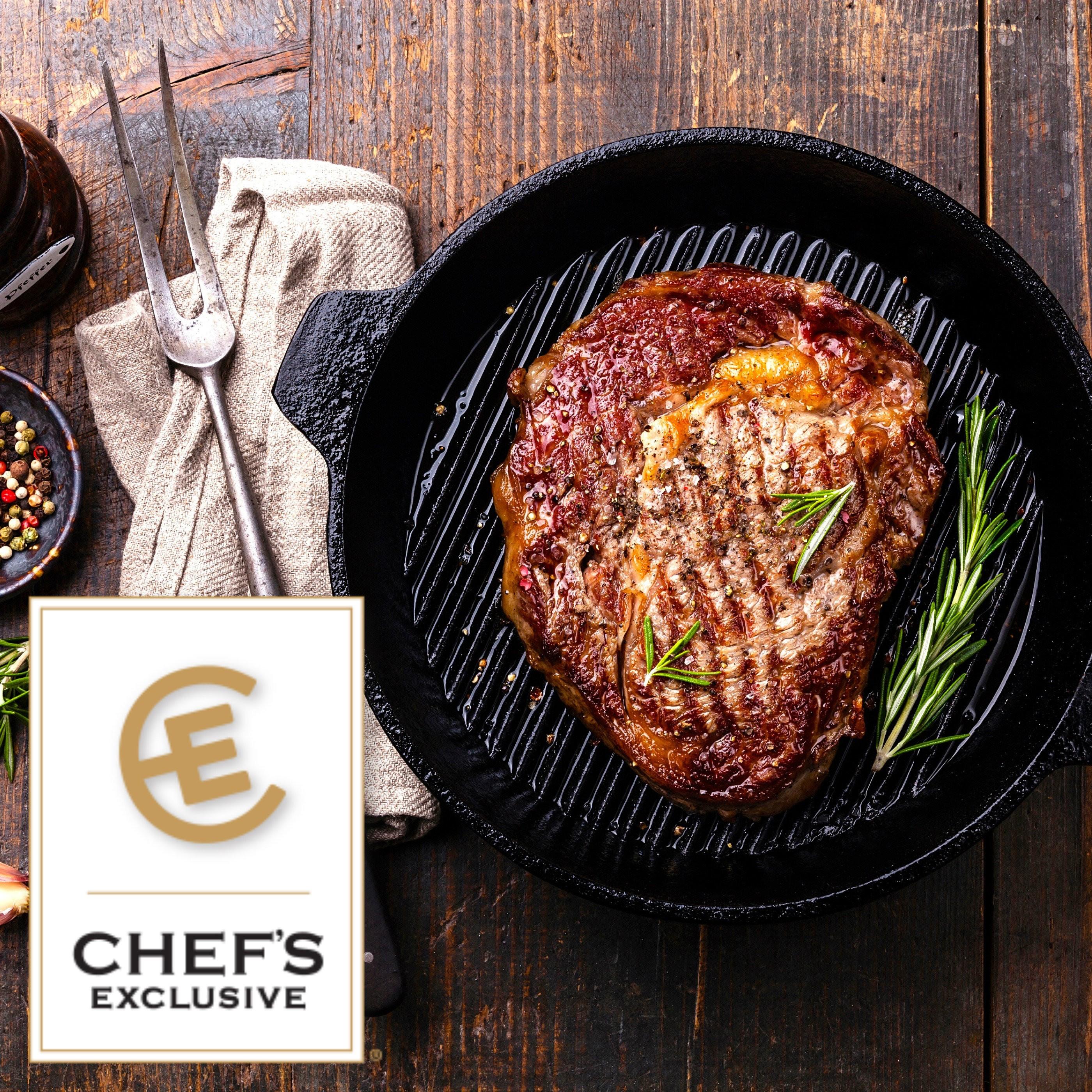 USDA Prime Ribeye. Chefs Exclusive