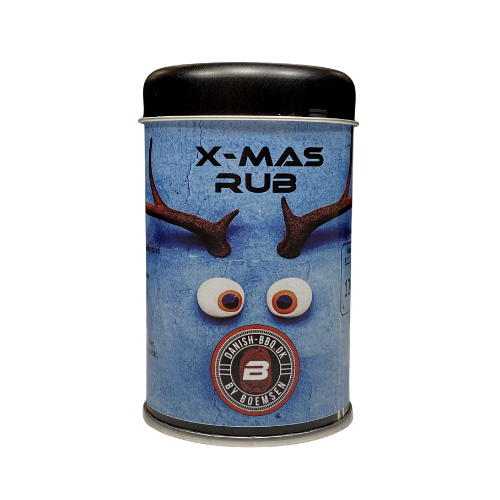 X-Mas Rub 120 gram - Danish BBQ By Boemsen