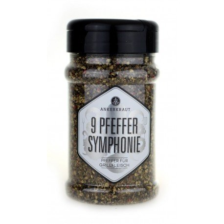 9 Peber Symfoni. Ankerkraut. 160 gram