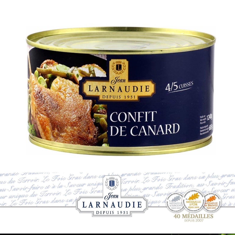 Confit de Canard. Jean Larnaudie
