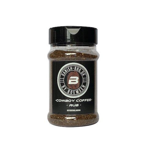 Cowboy Coffee Rub 220 gram - Danish BBQ By Boemsen