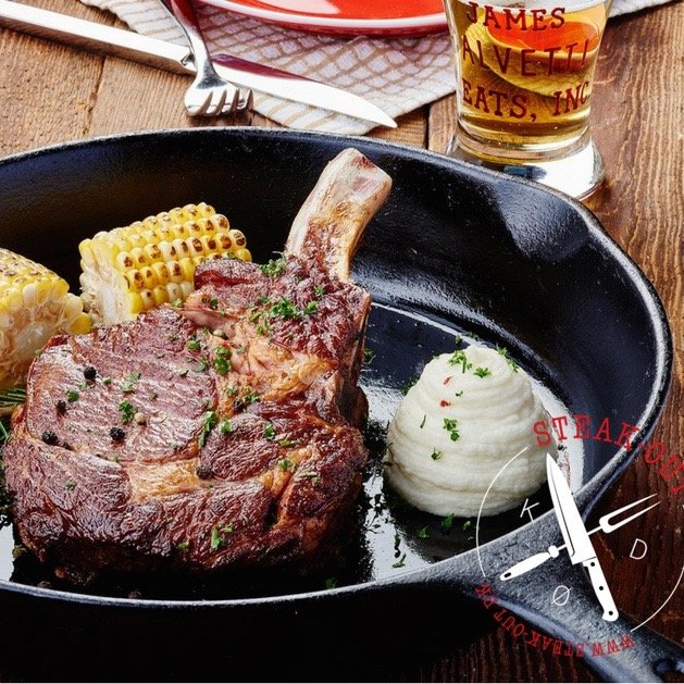 Ribeye Steak med ben, Aberdeen Black