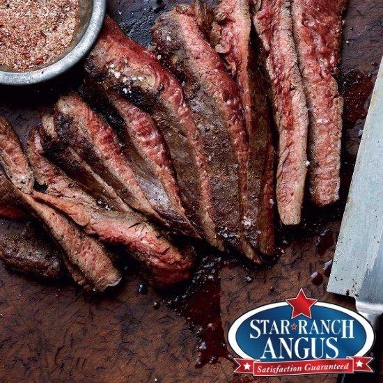Flank Steak. Star Ranch Angus