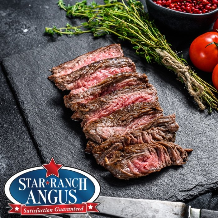 Flap Meat. Star Ranch Angus