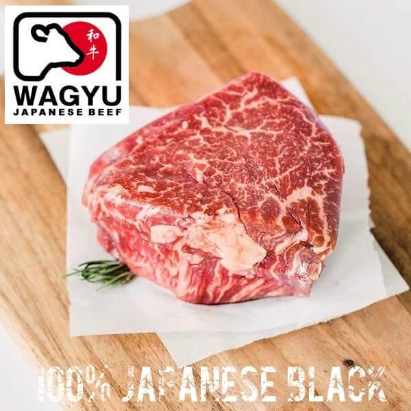 Japansk mørbrad Steak. FuldblodsWagyu A5. MBS 10.