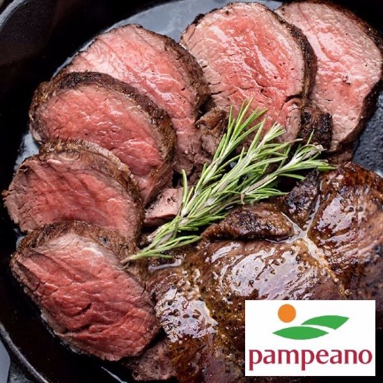 Steak-out mørbrad deal. Pampeano. Ca. 10 kg. 5-8 styk