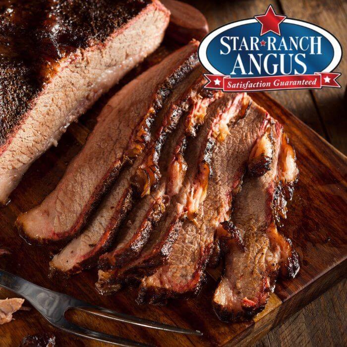 Brisket Flat- Black Angus. Star Ranch Angus