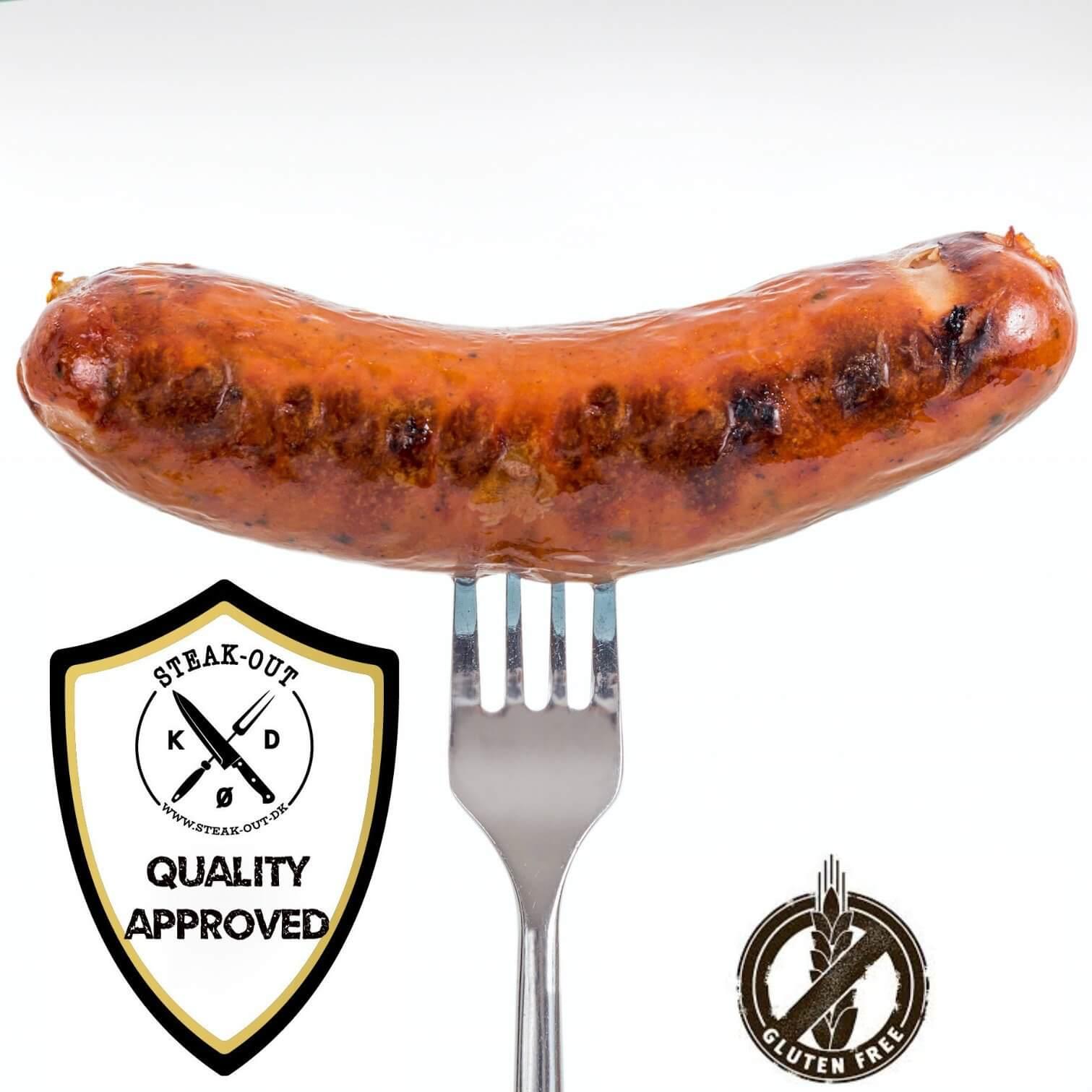 Skinke/kål Griller. 5 stk á 100 gram. Frostvare