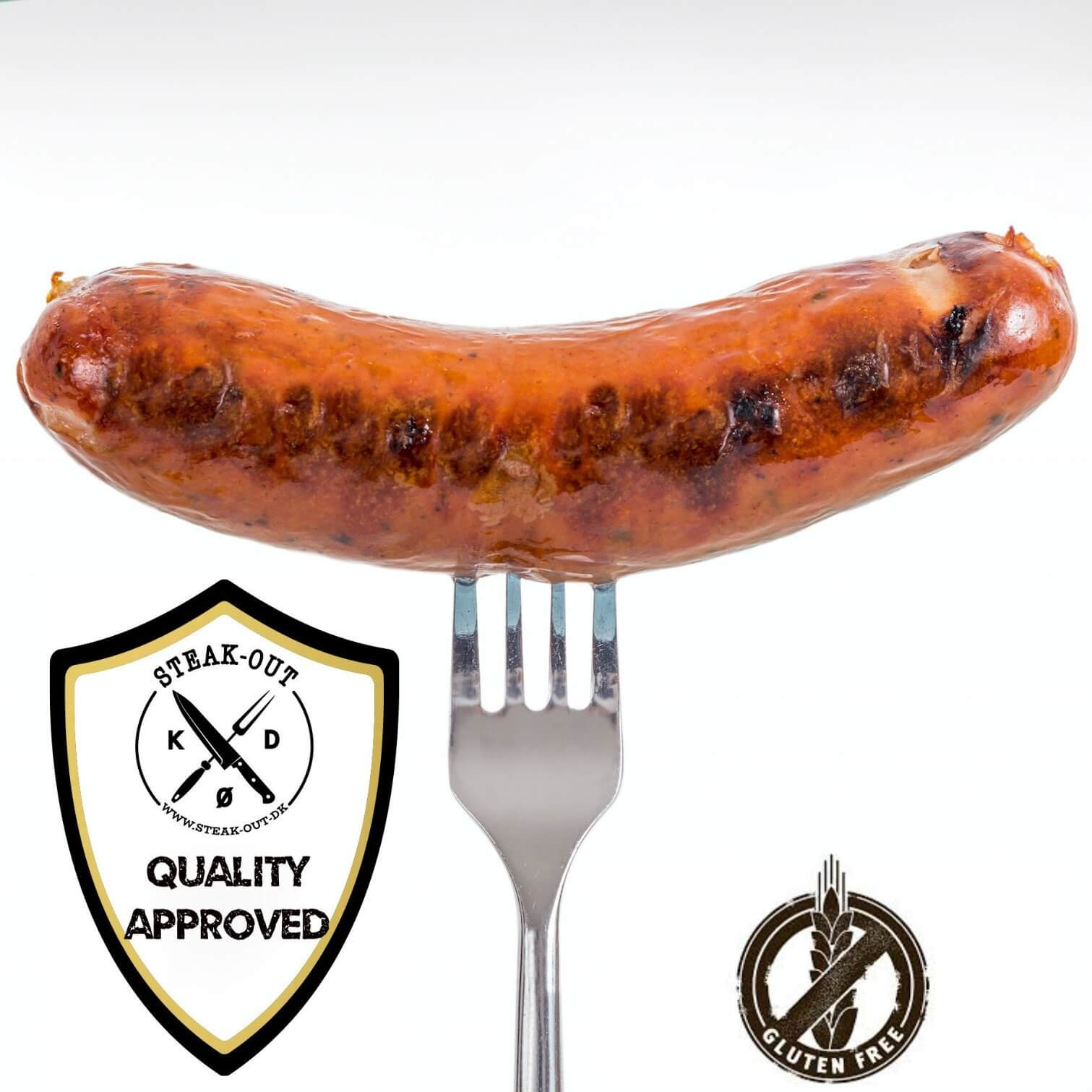 Bacon Griller. 5 stk á 100 gram. Frostvare
