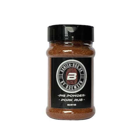 Pig Powder Pork Rub 220 gram - Danish BBQ By Boemsen