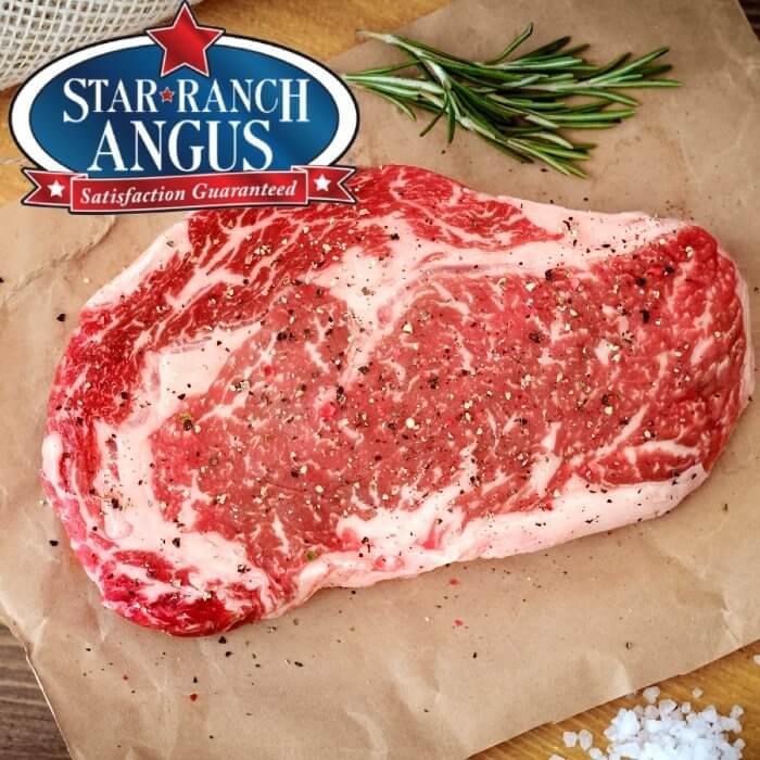 Ribeye. USDA Prime. Star Ranch Angus
