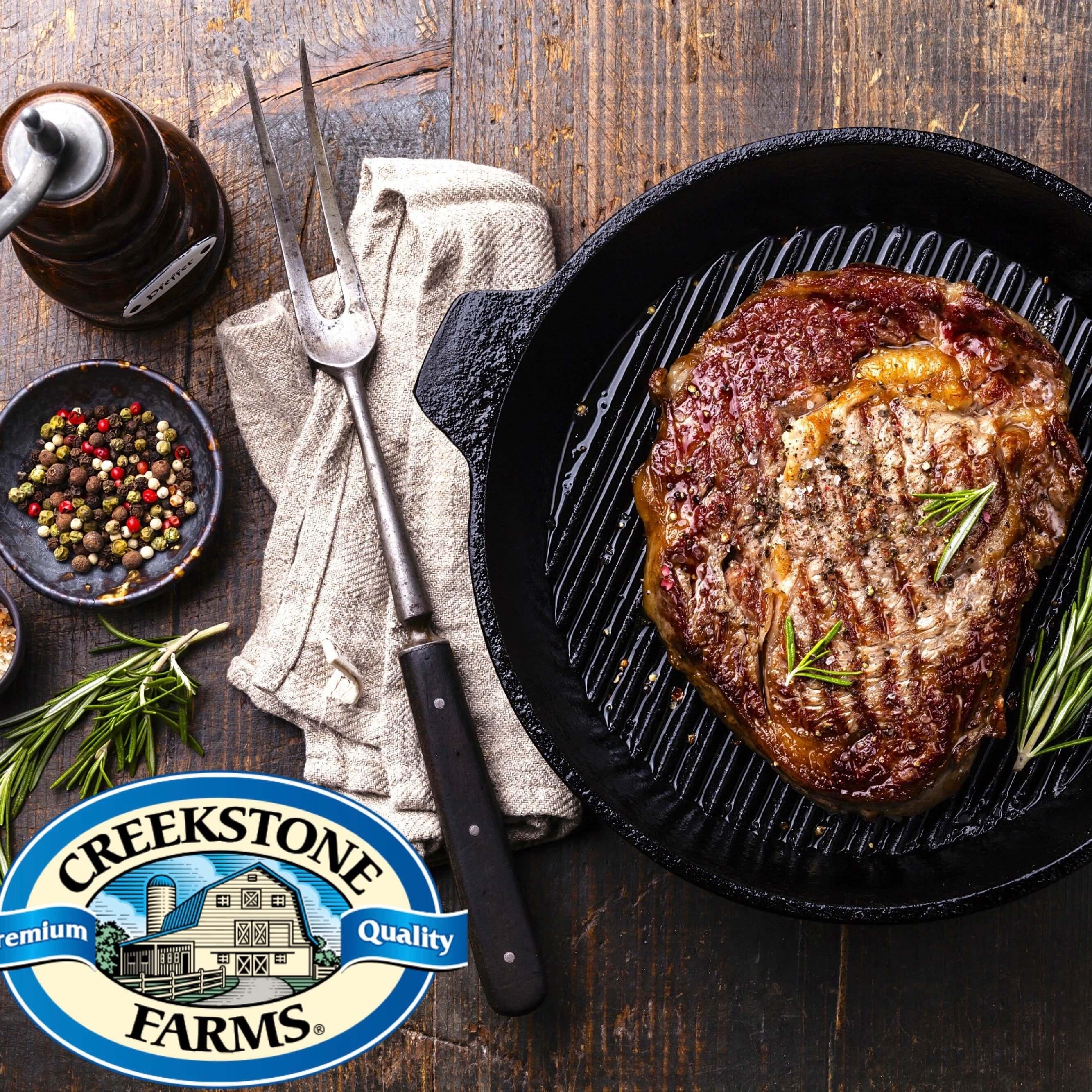 USDA Prime Ribeye steaks - 2 stk. Creekstone Black Angus