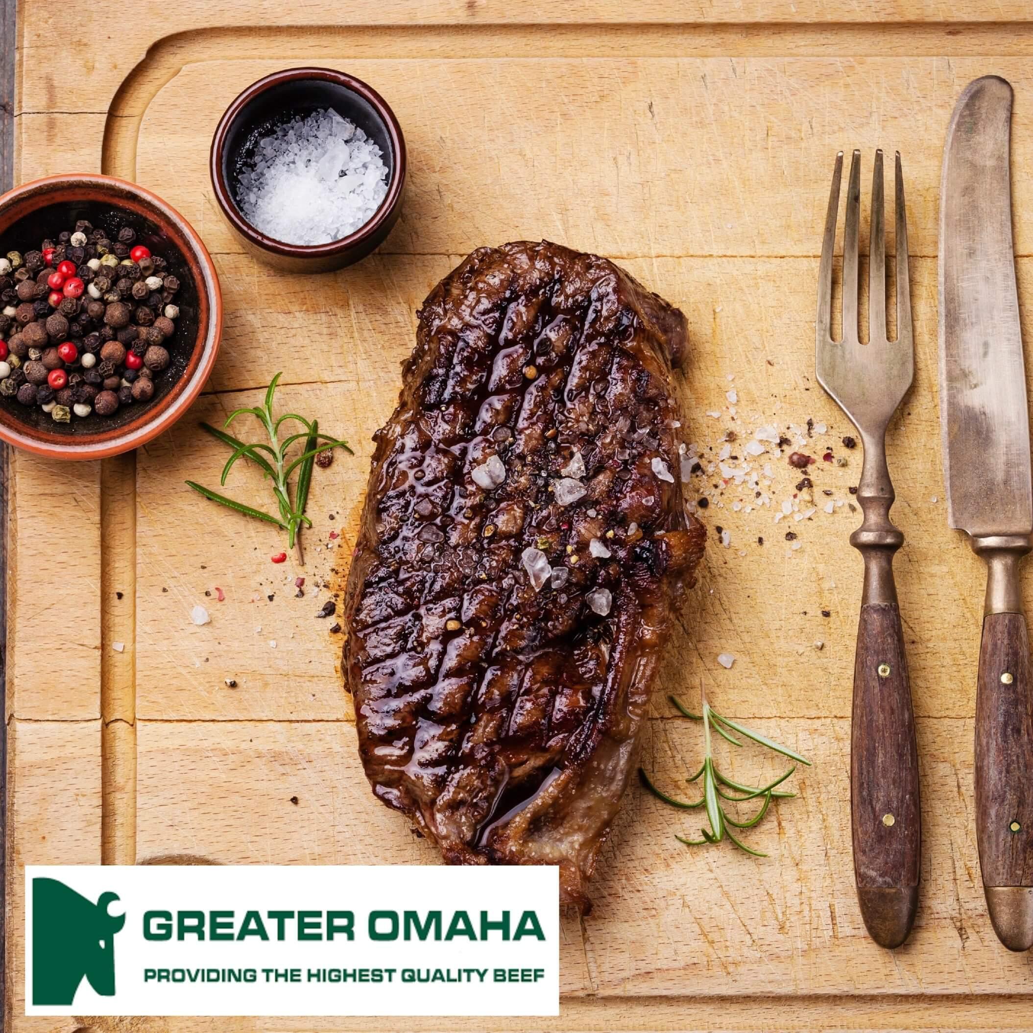 Striploin steaks 2 stk. - Greater Omaha Packing