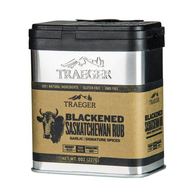 Traeger Blackened Saskatchewan  rub. 227 gram