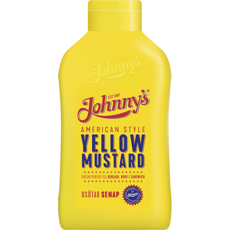 Johnny´s Yellow Mustard American Style
