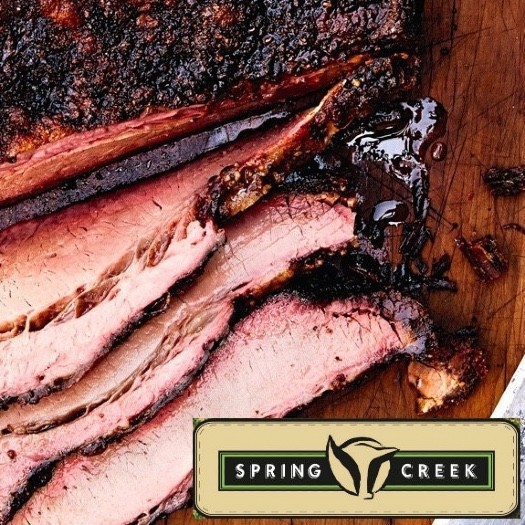 Brisket full packer. Spring Creek