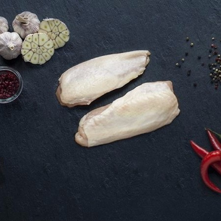 Kyllingebryst, ca. 350 gram. Hopballe Mølle
