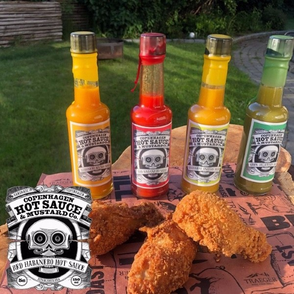 Hot Sauce Bundle. Copenhagen hot sauce & mustard co.