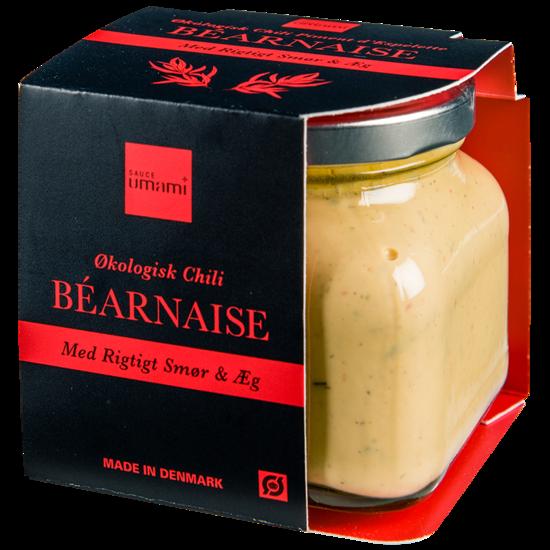 Økologisk Chili Bearnaise. 180 gram. Sauce Umami