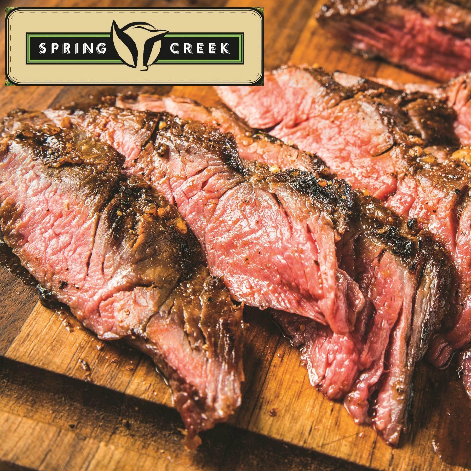 Flap Meat. Spring Creek
