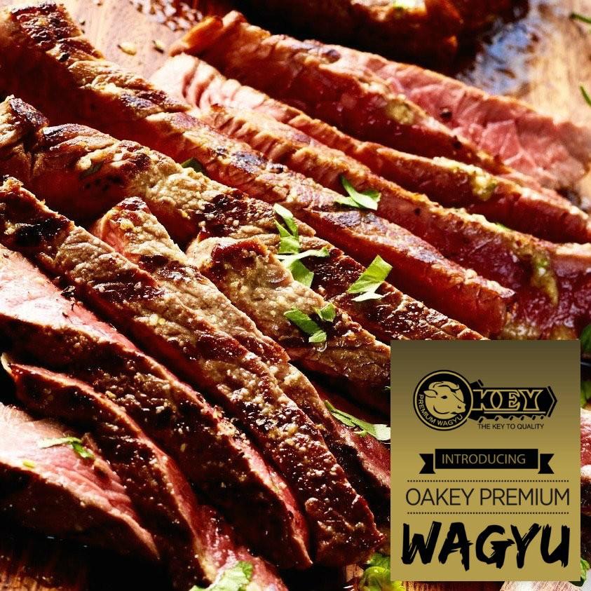 Flap Meat. Oakey Premium Wagyu. Mbs 3-5