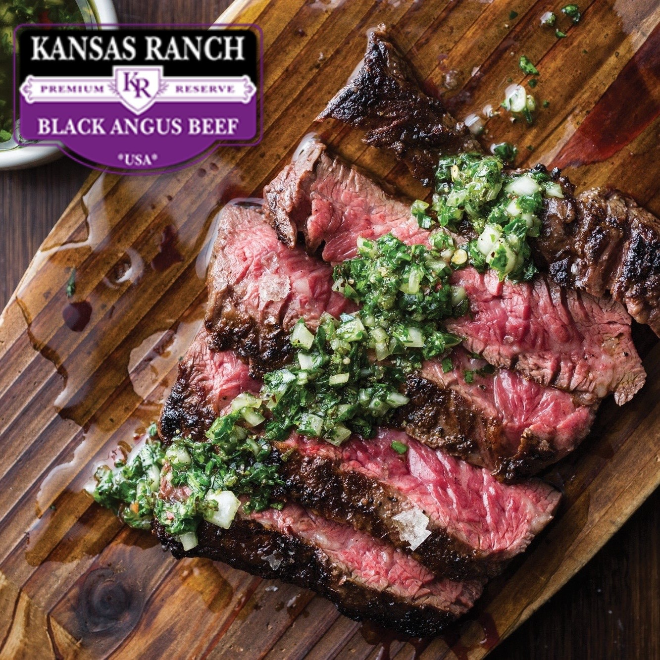 Inside skirt. Kansas Ranch Black Angus