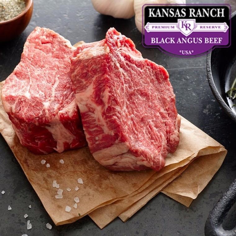 Mørbradhoved. Kansas Ranch - Black Angus
