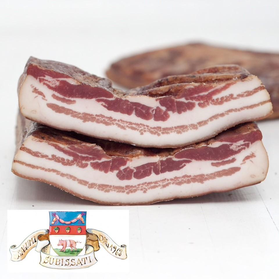 Pancetta Subissati. Ca. 300 gram