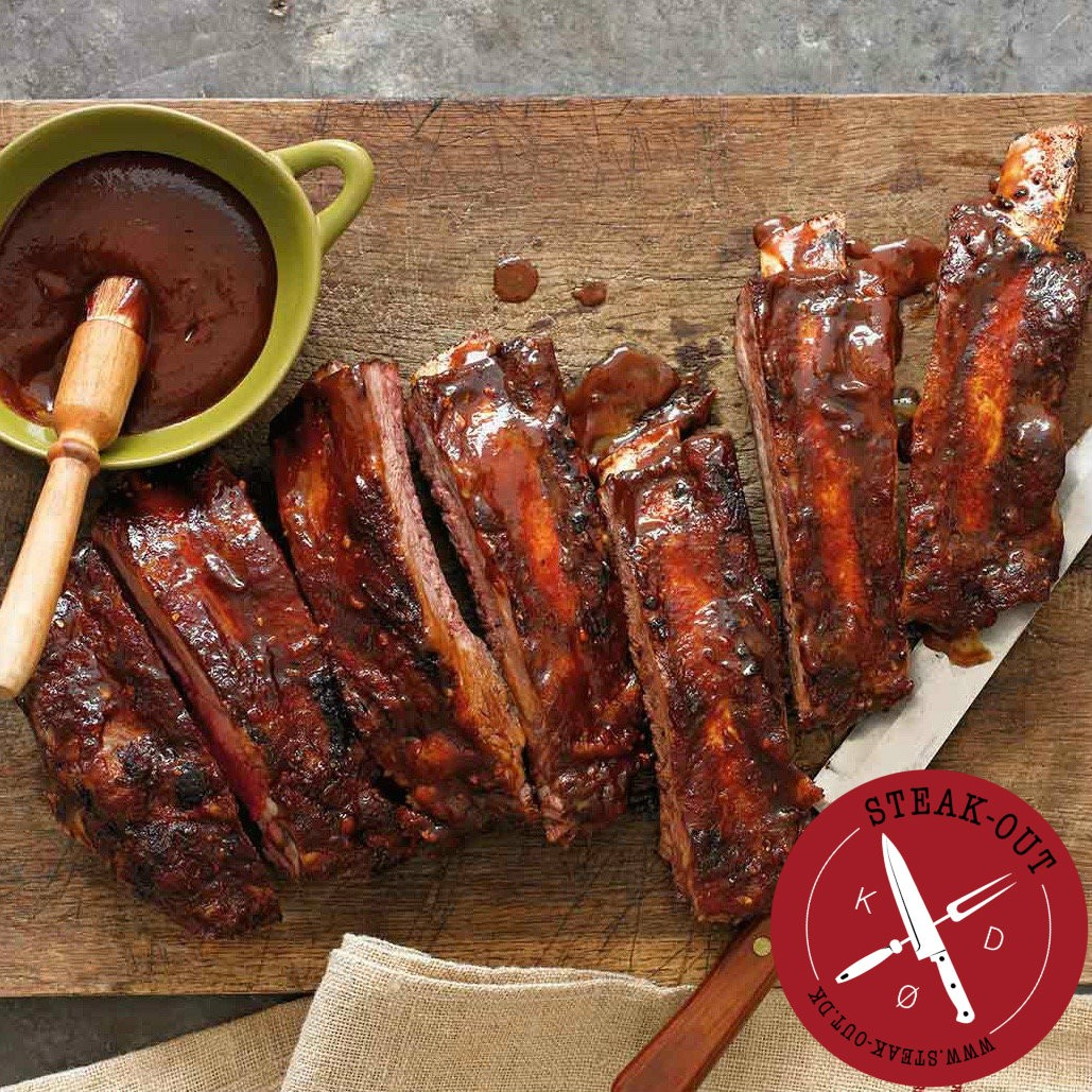 Duroc Baby back ribs. 1 side