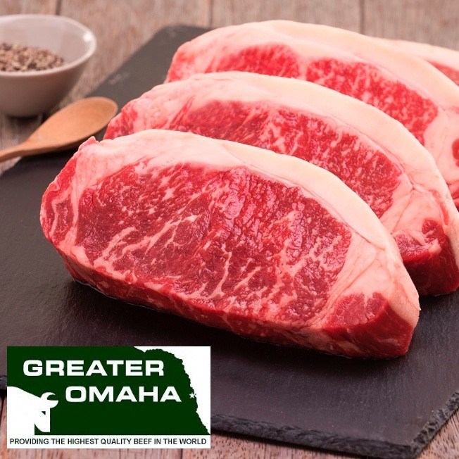 Striploin. Greater Omaha packing