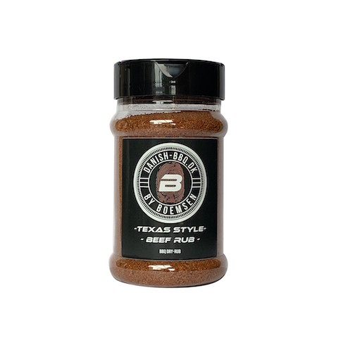 Texas Style Beef Rub 220 gram - Danish BBQ By Boemsen