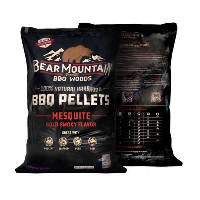 Bear Mountain træpiller. Mesquite. 9 Kg