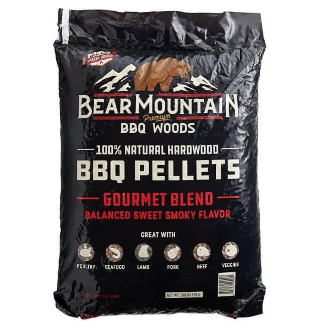 Bear Mountain Træpiller. Gourmet Blend. 9 kg