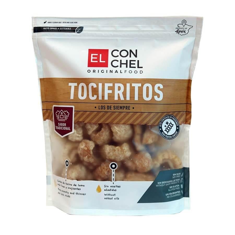 El Conchel Tocifritos. Flæskesvær. 150 gram.