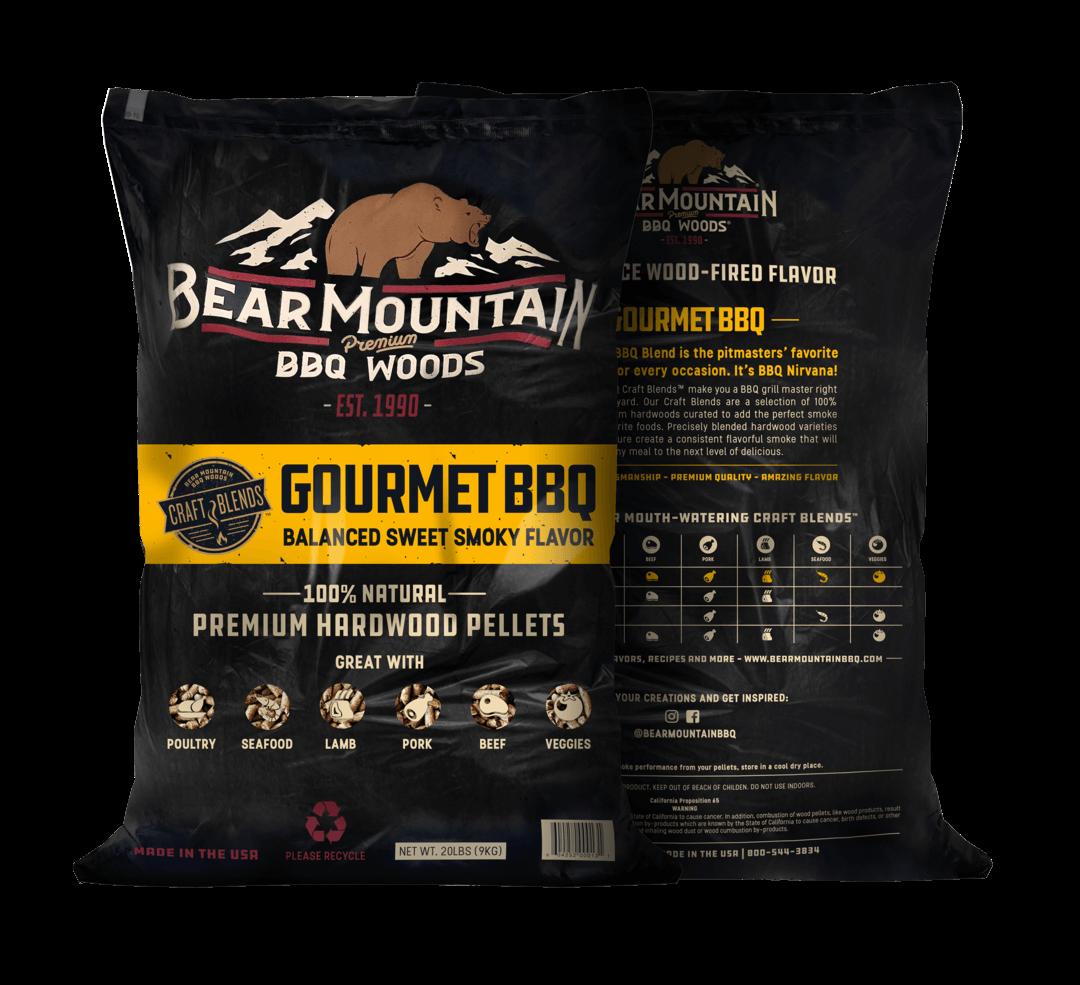 Bear Mountain træpiller. Gourmet BBQ. 9 Kg