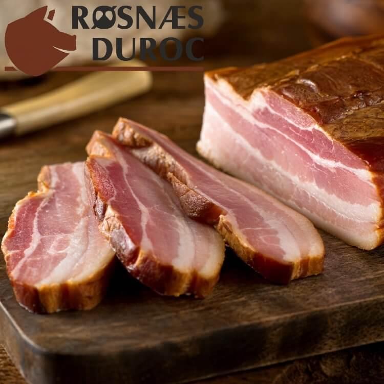 Dansk Gourmet Bacon fra Røsnæs Duroc
