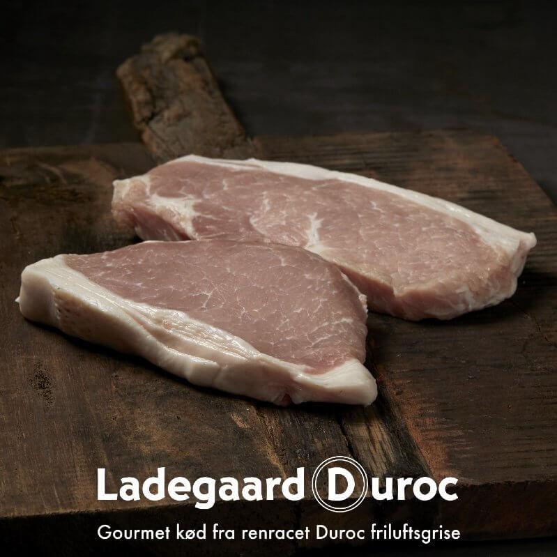Koteletter. Dansk krogmodnet fra Ladegaard Duroc