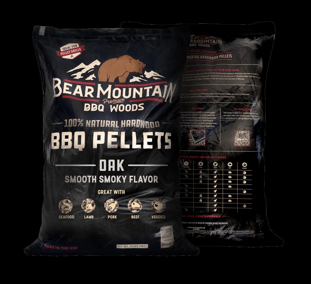 Bear Mountain træpiller. Oak. 9 Kg