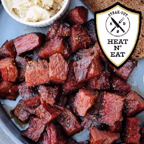 Sashi BBQ Burnt Ends - Heat N´ Eat by Steak-out