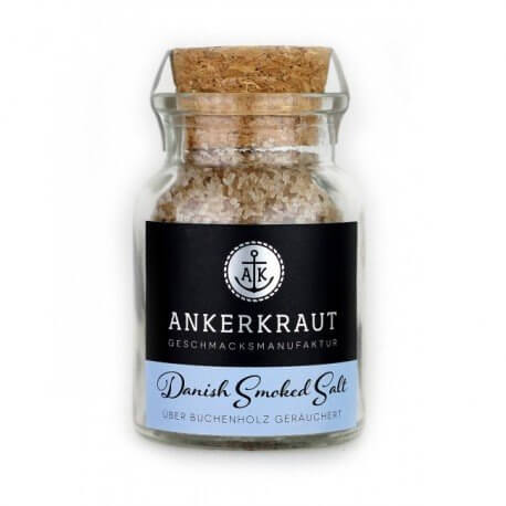 RØGET SALT. ANKERKRAUT. 160 GRAM